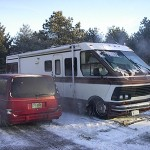 Photograph of our 1987 Rockwood recreational vehicle or home.