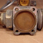 Top of the valve body