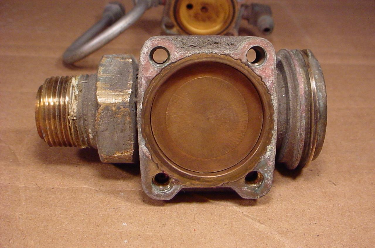 Top of the valve body