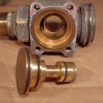 Valve body with spool valve removed.