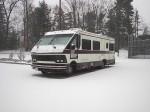 1986 Rockwood in snow.